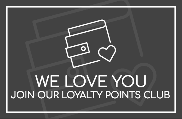 Sign up for an account and receive points for money off your next purchase