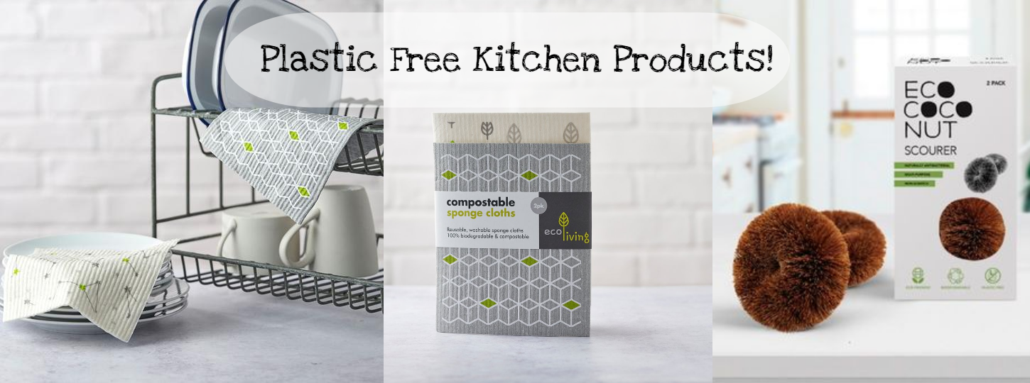 Plastic free eco friendly kitchen products