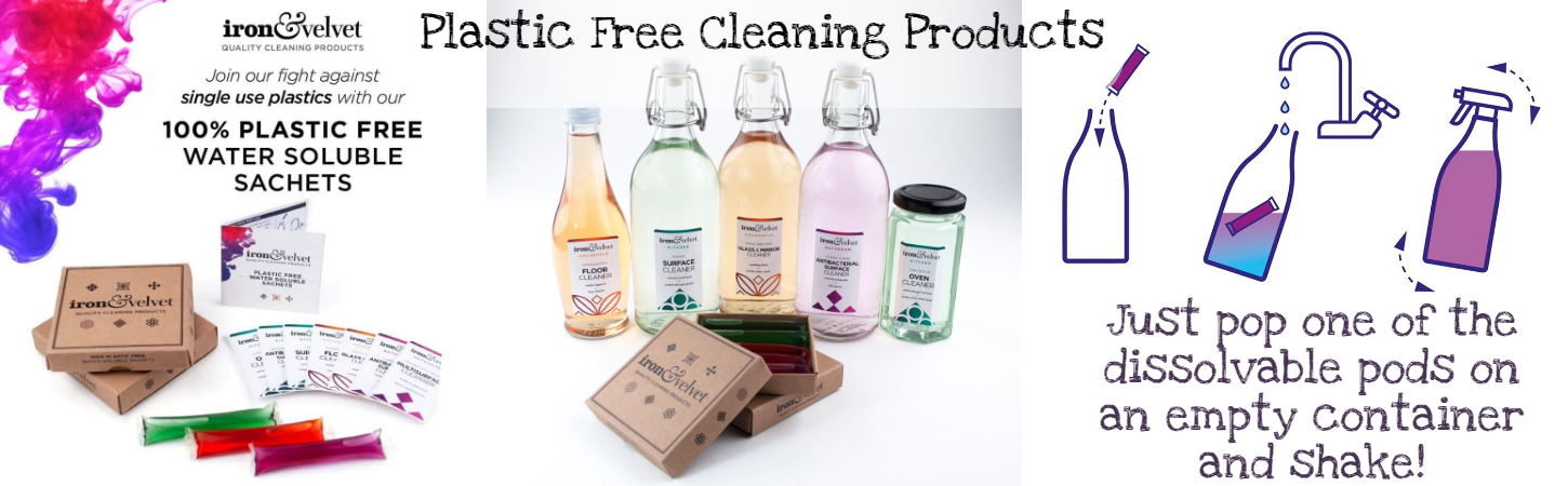 Iron & Velvet plastic free cleaning products